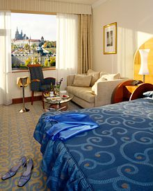 Junior Suite. Hotel President Praga