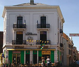 Restaurante bar de Lovaina.